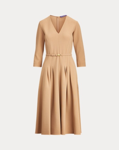 Raeana Virgin Wool-Blend Dress