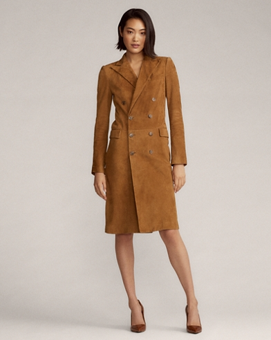 Wellesly Lamb-Suede Dress