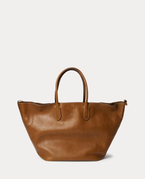 Leather Large Bellport Tote