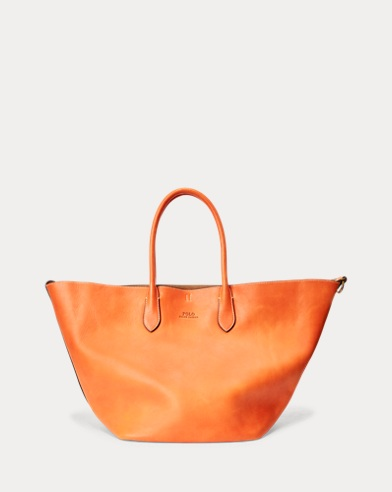 Leather Large Reversible Tote