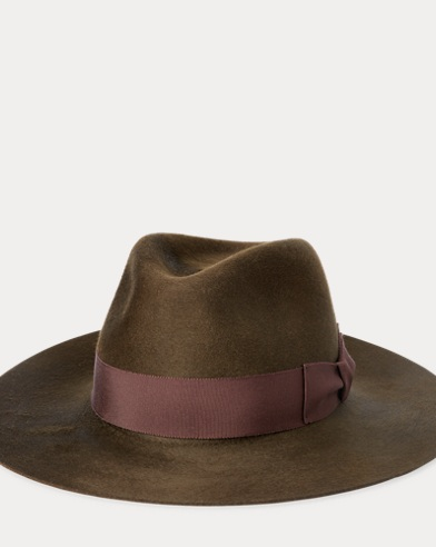 Water-Repellent Wool Fedora