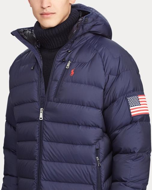 quality design e53d3 63e11 Glacier Heated Down Jacket
