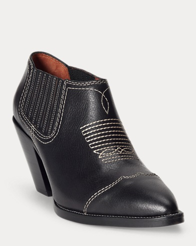 Lowrey Leather Bootie