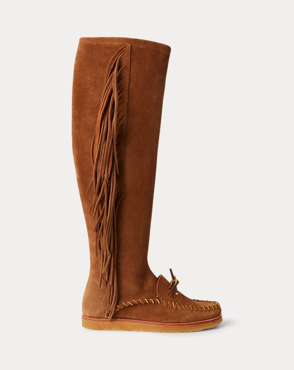 Channing Fringe Moccasin Boot
