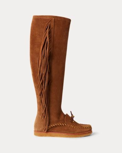 Channing Fringe Moccasin Boot
