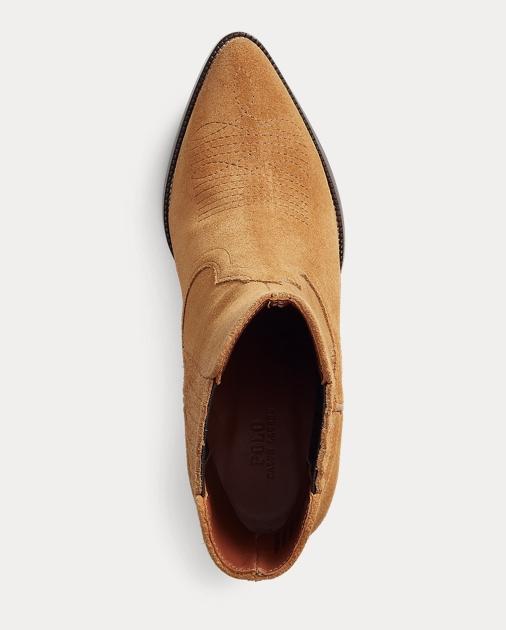 Polo Ralph Lauren Lowrey Suede Cowboy Boot 4