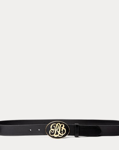 Script RL-Buckle Leather Belt
