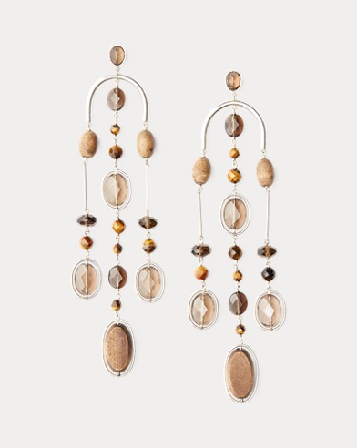 314e2e9d277 Wood Chandelier Earrings. Ralph Lauren