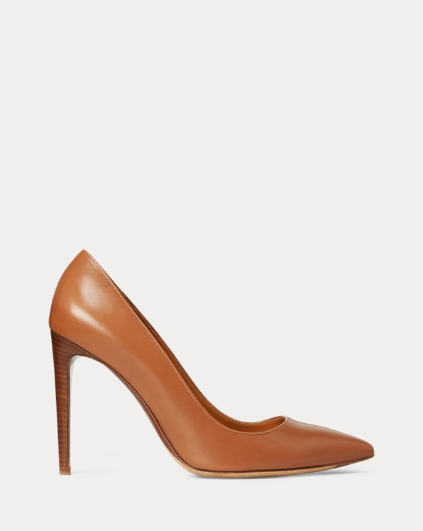 Celia Calfskin Pump by Ralph Lauren Collection, available on ralphlauren.com for $675 Kate Middleton Shoes Exact Product