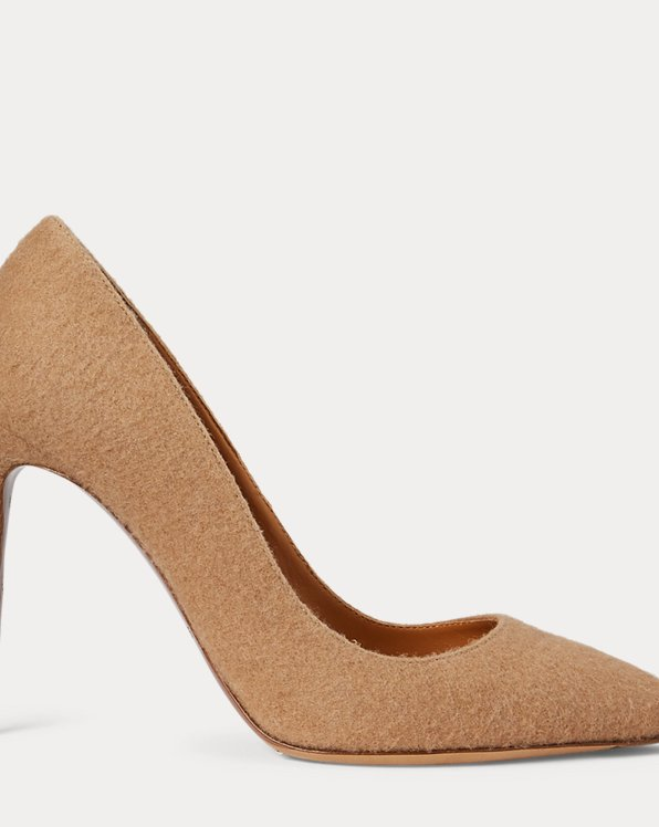 Celia Camel-Hair Pump by Ralph Lauren Collection, available on ralphlauren.com Kate Middleton Shoes SIMILAR PRODUCT