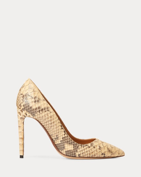 Celia Python Pump by Ralph Lauren Collection, available on ralphlauren.com for $995 Kate Middleton Shoes SIMILAR PRODUCT