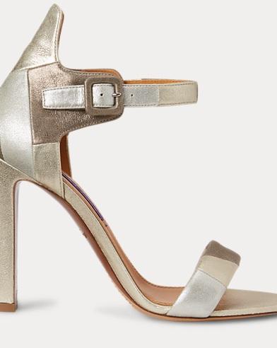 Sandales Darbi en chèvre velours