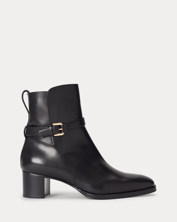 Callie Burnished Calfskin Boot