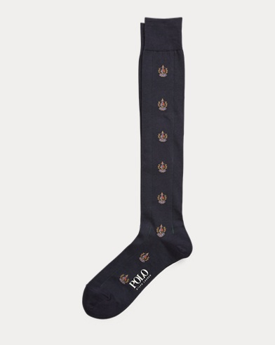 Crest Cotton-Blend Socks