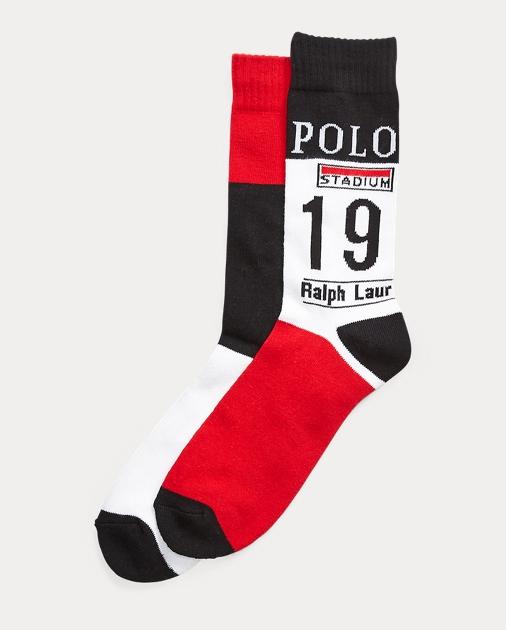 00e6b1da1 Polo Ralph Lauren Winter Stadium P-Wing Socks 1