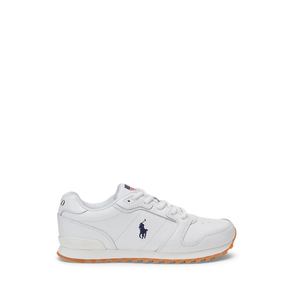 Classic Runner Leather Trainer