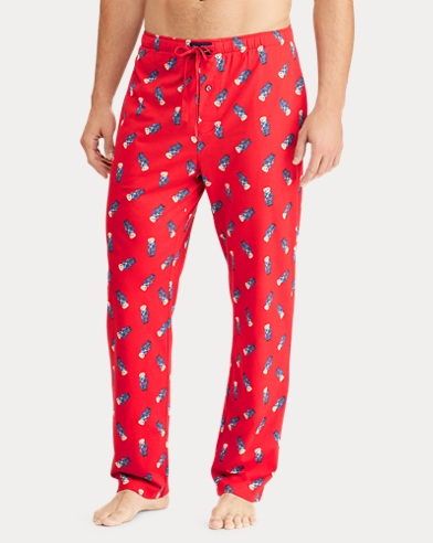 Polo Bear Cotton Pajama Pant ad2d35ab9