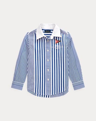 Striped Cotton Poplin Shirt