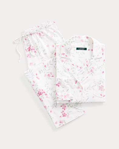 Floral Cotton Sleep Set