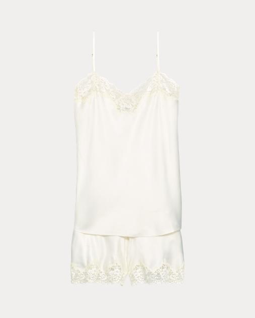 Lace Trim Cami Pyjama Set by Ralph Lauren