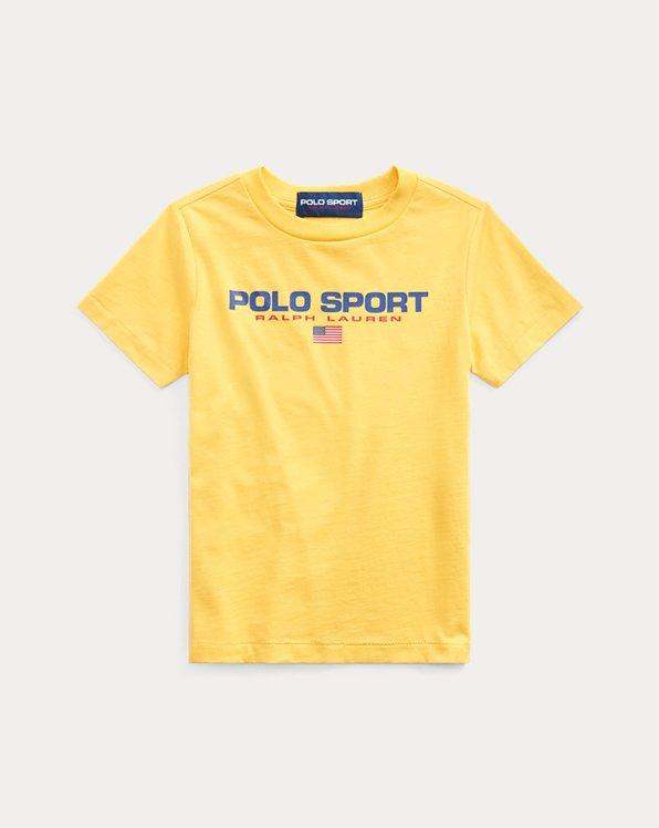 T-shirt Polo Sport jersey de coton