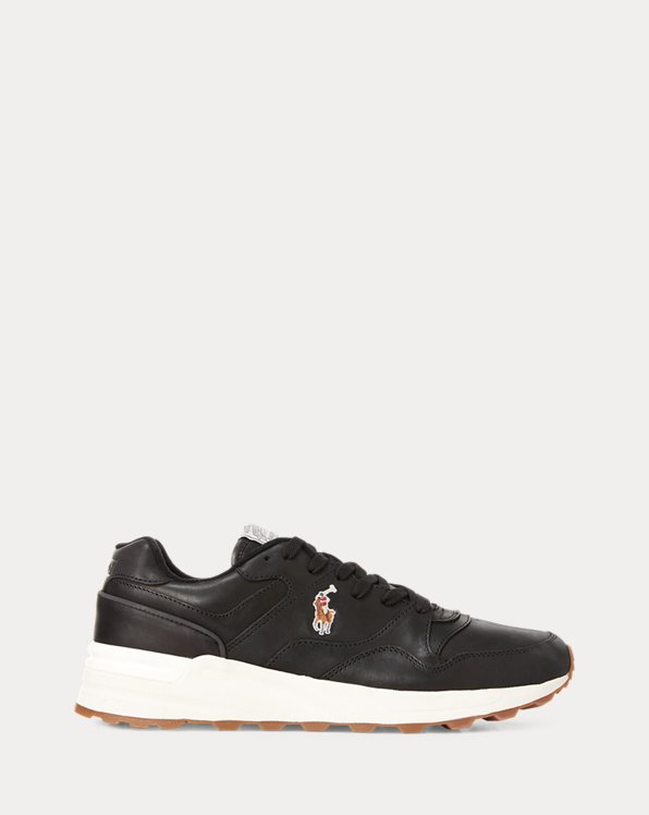 Trackster 100 Leather Trainer