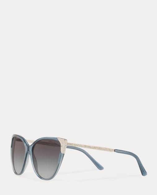 6db05583db Hand-Tooled Cat-Eye Sunglasses