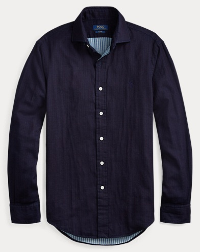 Slim Fit Double-Faced Shirt