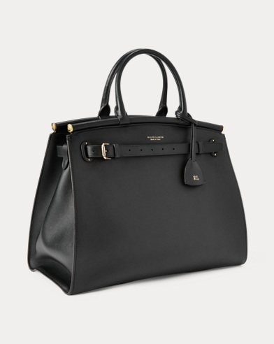 Calfskin Large RL50 Handbag. Ralph Lauren afddec2a27f2a