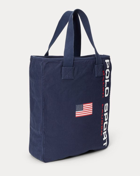 Canvas Polo Sport Tote