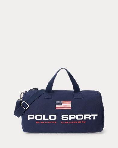Polo Sport Segeltuchreisetasche