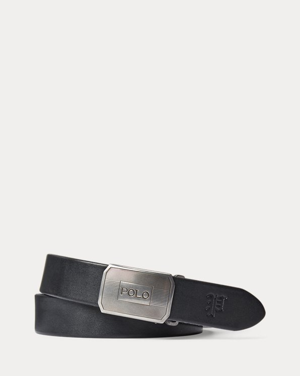 Engraved-Plaque Vachetta Belt