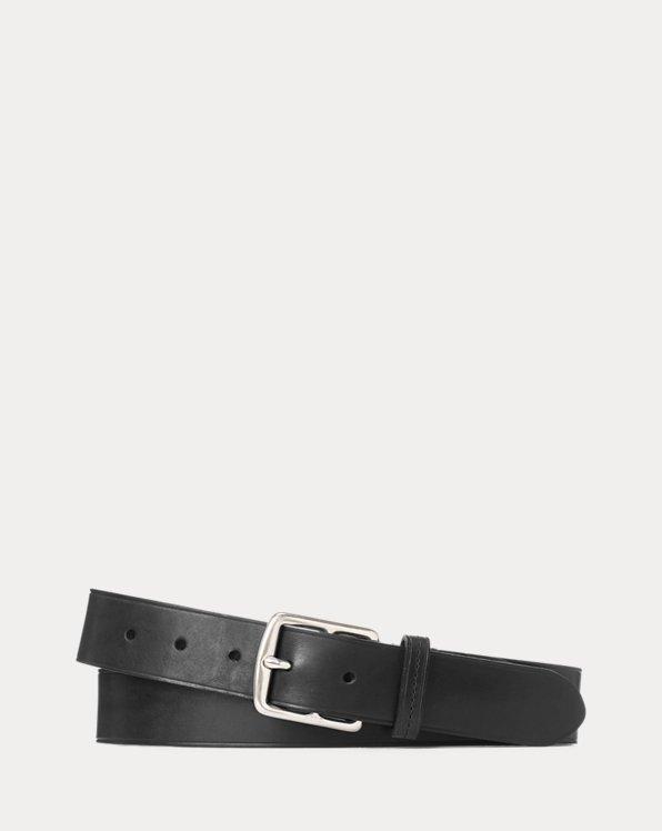 Equestrian Leather Dress Belt