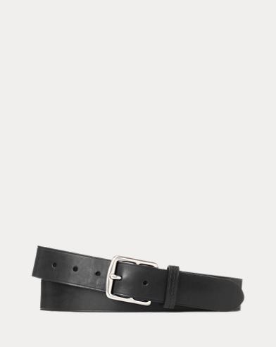 Equestrian Leather Dress Belt