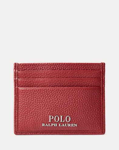 60e530c8a Pebbled Leather Card Case