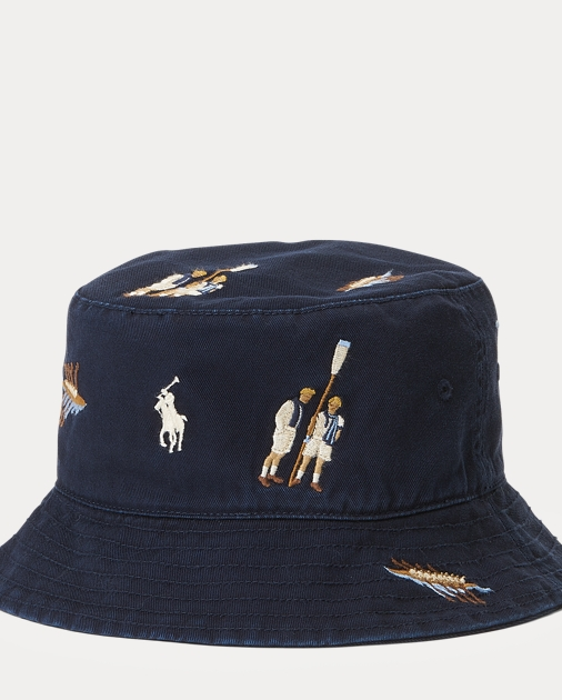 8690923c0af8e Polo Ralph Lauren Reversible Cotton Bucket Hat 1