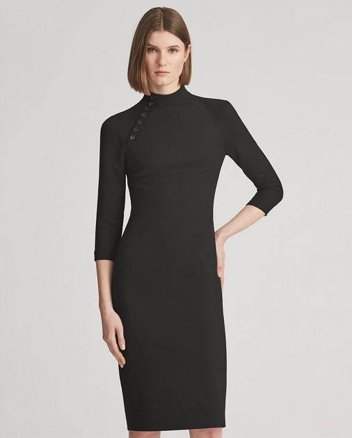 Matilda Wool Silk Dress by Ralph Lauren