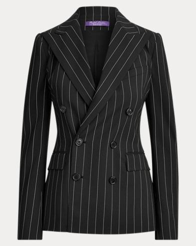 Camden Rope-Stripe Wool Jacket