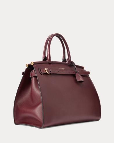 02a9597500 Calfskin Large RL50 Handbag. Ralph Lauren