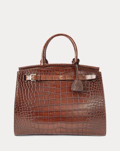 07a517682b Alligator Large RL50 Handbag. Ralph Lauren. Alligator Large RL50 Handbag.   29