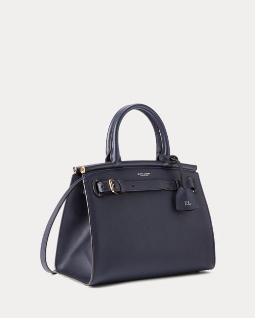 Ralph Lauren Calfskin Medium RL50 Handbag 2
