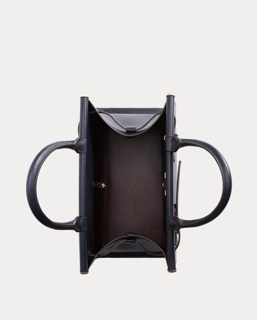 Ralph Lauren Calfskin Medium RL50 Handbag 4