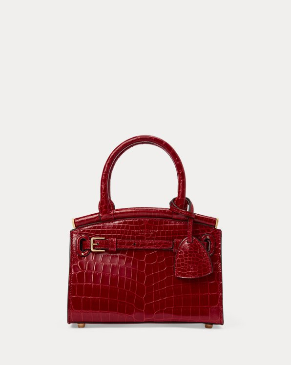 Mini sac RL50 en alligator