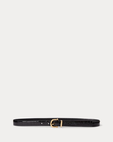 Single-Prong Leather Belt