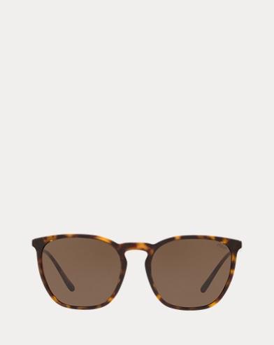 Gafas de sol cuadradas con puente redondeado