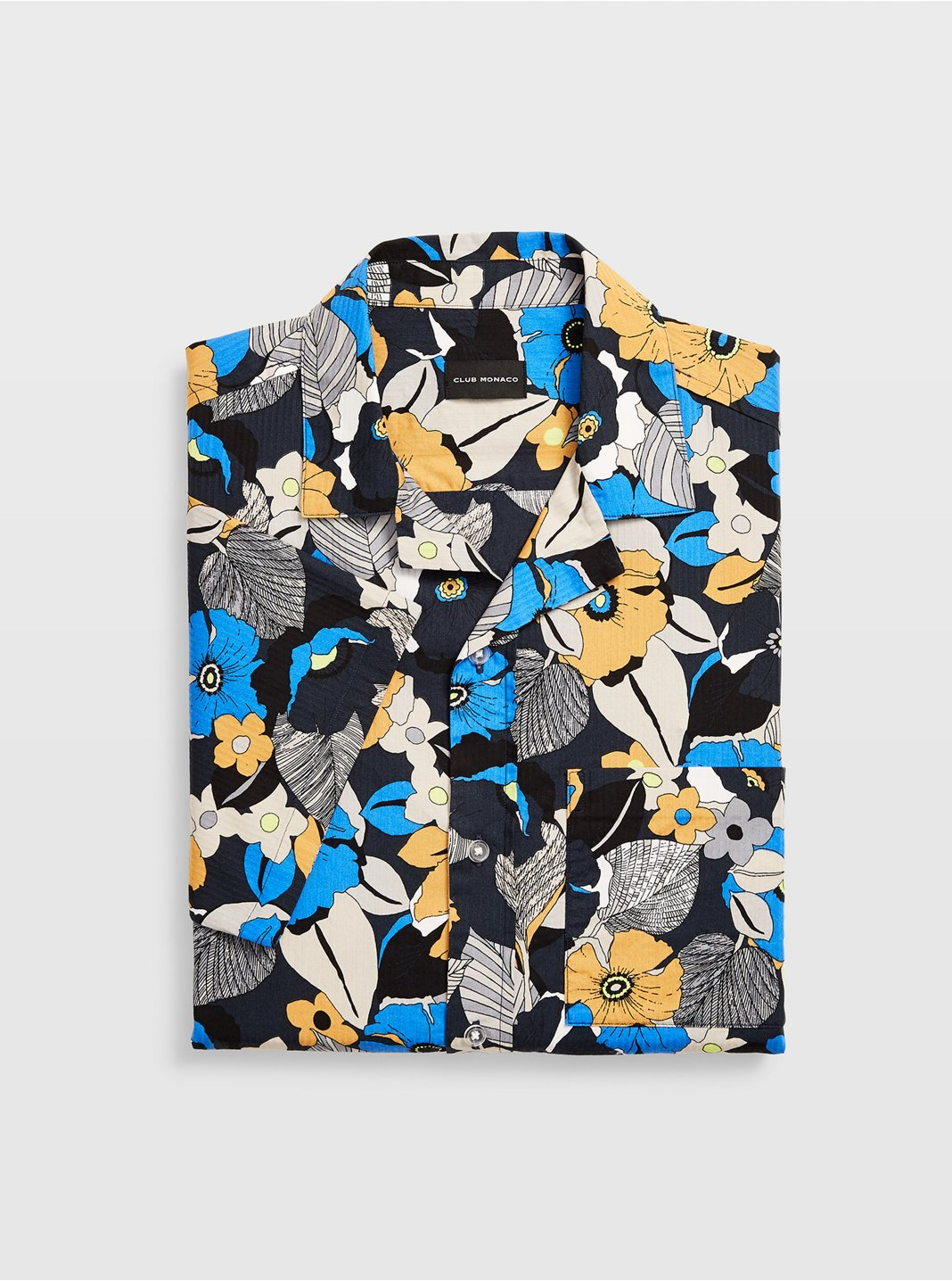 Camp Collar Floral Shirt