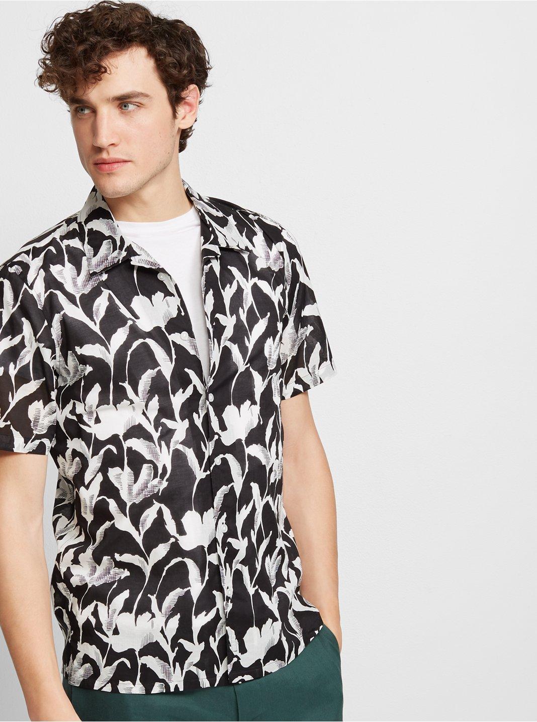 Slim Floral Shirt