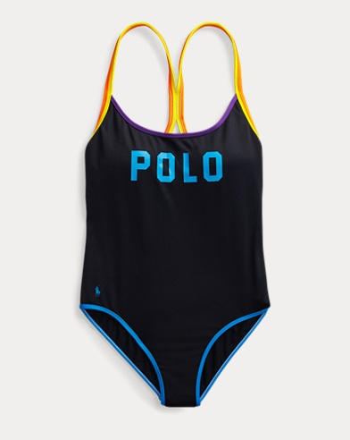 Polo Racerback Swimsuit