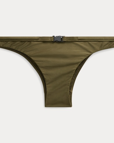 Belted Hipster Bikini Bottom