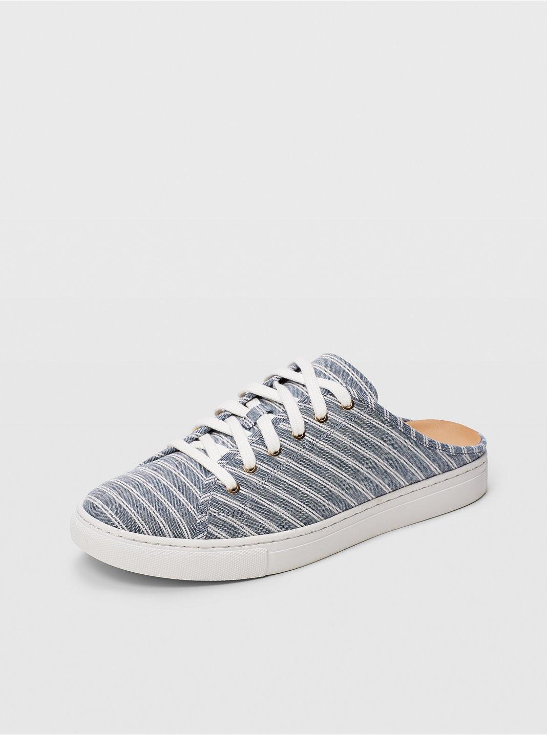 Jamila Linen-Blend Sneaker
